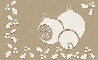 4 kleine Embossingschablonen Prägeschablonen Muscheln Sonne Füße 004