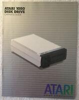 Original VTG 1982 Atari 1050 Disk Drive Owner's Guide - Manual #C061509 Rev B