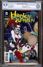 Detective Comics # 23.2 CBCS 9.9 White (DC, 2013) Harley Quinn Origin