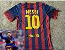 New Fcb Barca Messi Jersey Soccer Football Barcelona Xl Dri Fit Spain Argentina