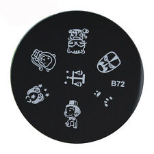 Nail Art Stamping Image Plates Cute Pattern Plates Stainless Steel High Quality