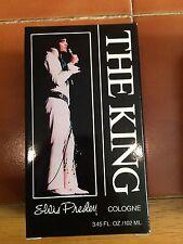 Elvis Presley THE KING Cologne Home Shopping Club Exclusive Rare New NIB