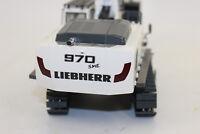 WSI 04-1156 Liebherr R 970 Kettenbagger weiß SME  1:50 NEU in OVP