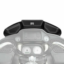 Windshield Bags 3 Pocket Fairing Pouch For Touring Street Glide FLHX 2014-2020