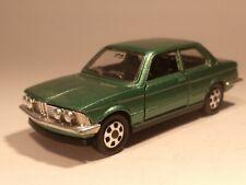 Vintage 1978 Mattel Mebetoys A-103 BMW 320 Metallic Green 1/43 Italy Excellent