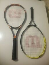 Two Wilson Tennis rackets