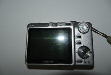 Sony Cyber-shot DSC-W55 7.2MP Digitalkamera - Silber
