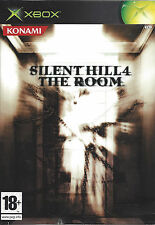 SILENT HILL 4 THE ROOM for Xbox - with box & manual - PAL