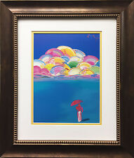 """Peter Max """"IOAE Sage 95'"""" Newly CUSTOM FRAMED Print Art POP psychedelic Neo Deco"""