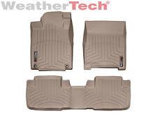 WeatherTech Floor Mats FloorLiner for Honda CR-V - 2012-2016 - Tan