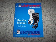 1994 Johnson Evinrude 150 175 HP Outboard Motor Service Repair Manual