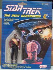 STAR TREK The Next Generation. Action Figure Lieutenant Worf  Galoob Toys