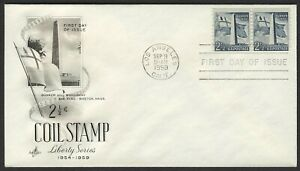 #1056 2 1/2c Bunker Hill, Art Craft-Addressed FDC ANY 4=