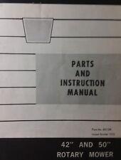 Oliver White Lawn Garden Tractor Mower, Dozer & Tiller Owner & Parts (3 Manuals