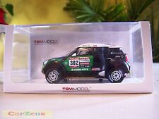 1:43 True Scale TSM, Mini Countryman All4 Racing, #302 Dakar Rally Winner!