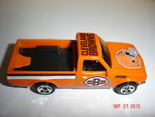 CUSTOM ORANGE CLEVELAND BROWNS DATSUN 620 PICK UP