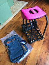 Zucca Ice skating bag frame with NEW denim cover
