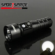 XTAR D26 Scuba Diving Flashlight Cree XM-L2 U3 LED 1100 Lumens Dive Torch 18650