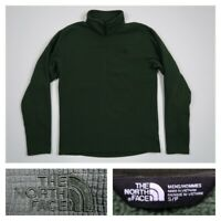 The North Face Men's Small Gordon Lyons Quarter Zip Fleece Pullover Dark Green