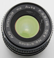 Alfo Supercolor MC Auto 1:2.8 2.8 28mm 28 mm Multi-Coated - Pentax PK