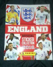 PANINI 2016 England Album.