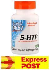 Doctor's Best 5 HTP 60 Capsules SLEEP ASSIST MIND MOOD 5HTP TRYPTOPHAN