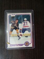 VINTAGE HOCKEY CARD  O PEE CHEE 1981-82  RAY BOURQUE #17