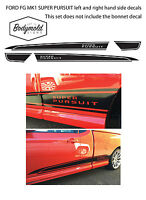 Ford Style FG Mark1 SUPER PURSUIT Ute side decals (left and right hand side)
