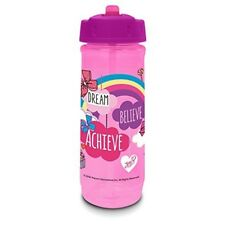 Jojo Siwa Drink Bottle, Polypropylene, Pink, 590ml