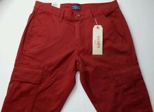 Levi's Men's 541 Athletic Fit Stretch Cargo Pants Sun Dried Tomato Red 30 X 30