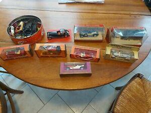 Lots de voitures matchbox models of yesteryear