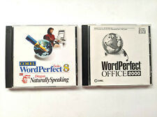 Corel WordPerfect Suite 8 w/ Dragon Naturally Speaking - Office 2000 - Windows