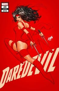 DAREDEVIL #29 DAVID NAKAYAMA EXCLUSIVE VARIANT NM ELEKTRA PUNISHER KINGPIN RED