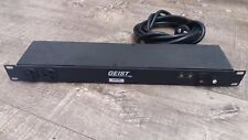 Geist PDU SP104-1025 Power strip 20A with NEMA 5-20P plug and (10) NEMA 5-20R