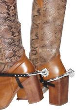 Sporen 2 Paar 4x 20901 für Cowboy silber