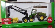 SIKU JOHN DEERE HARVESTER FORESTRY SET 1994 **NEW AND BOXED**