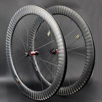 700c road bike carbon fiber wheels 50mm depth Dt swiss 240s hub carbon wheelset