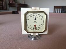 VINTAGE 1940S 1950S ACCESSORY AUTO DASH THERMOMETER / HUMID GAUGE CHEVY FORD