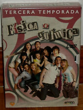 FISICA O QUIMICA PHYSICAL OR CHEMICAL 3 COMPLETE SEASON 4 DVD SEALED NEW SERIES