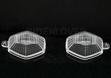 Clear Right Left Turn Signal Blinker Lens For Suzuki SV 1000/S FV 650 Gladius