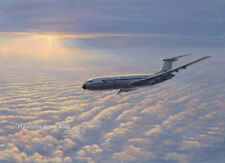Vickers VC10 RAF Support Commnad Aircraft Airliner Aviation Painting Art Print