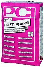 (1,59€/Kg) PCI FT Fugenbreit Fugenmörtel 5-kg-Beutel Nr. 31 zementgrau