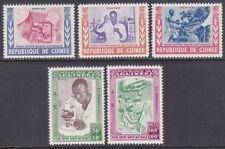Guinea B12-16 MNH 1960 Health Propaganda Set of 6 Very Fine