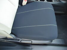 Bucket Seat Cover (1) BLACK Neoprene with GRAY ACCENT STITCHING FOR ALL FORDs