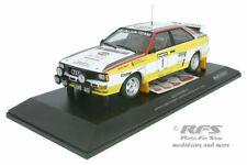 Audi Quattro A2 Walter Röhrl Rallye Neuseeland New Zealand 1984  1:18 Minichamps