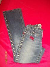 Euc Rare Parasuco Prem Denim Stretch Flare Jeans Sz 11 XL