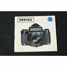Pentax 6x7 Manual/Instructions for Use / Guide/German