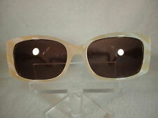 Jimmy Crystal NEW Sunglasses JCS-351 in Blonde 60X17  Frame Sunglass