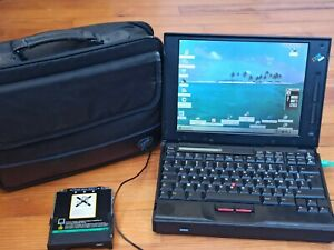 Ordinateur portable laptop collection rétro vintage IBM ThinkPad 760EL