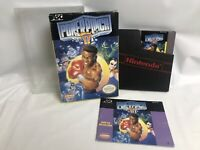 Power Punch II 2 (Nintendo NES) Complete CIB Authentic Tested Works - Great Cond